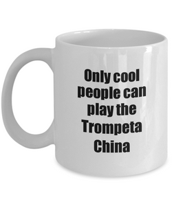 Trompeta China Player Mug Musician Funny Gift Idea Gag Coffee Tea Cup-Coffee Mug