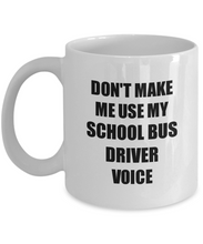 Load image into Gallery viewer, School Bus Driver Mug Coworker Gift Idea Funny Gag For Job Coffee Tea Cup-Coffee Mug