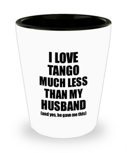 Tango Wife Shot Glass Funny Valentine Gift Idea For My Spouse From Husband I Love Liquor Lover Alcohol 1.5 oz Shotglass-Shot Glass