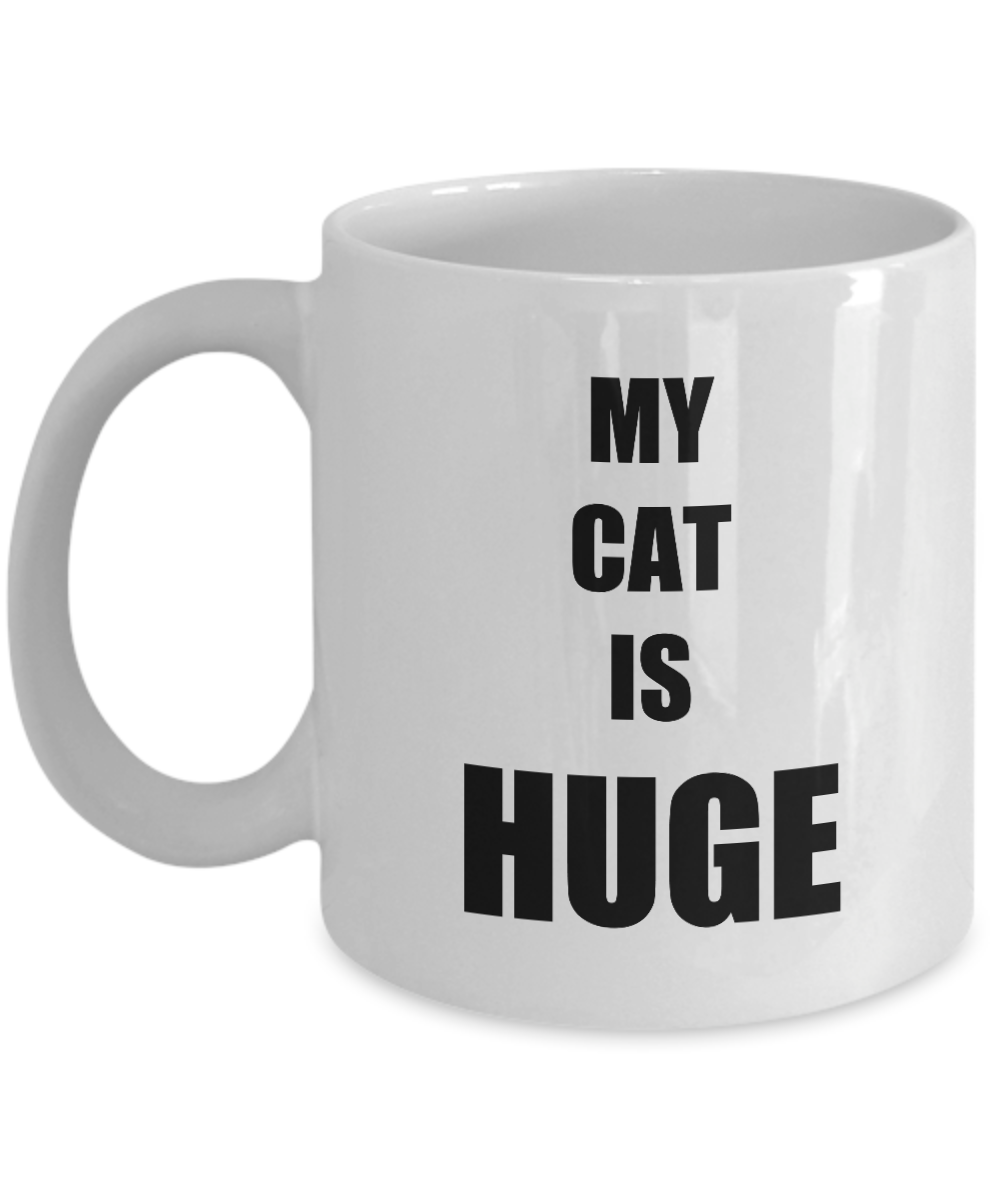 Huge Cat Mug Funny Gift Idea for Novelty Gag Coffee Tea Cup-Coffee Mug