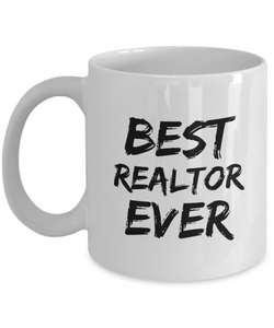 Realtor Mug Real Estate Agent Best Ever Funny Gift for Coworkers Novelty Gag Coffee Tea Cup-Coffee Mug