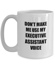Load image into Gallery viewer, Executive Assistant Mug Coworker Gift Idea Funny Gag For Job Coffee Tea Cup-Coffee Mug