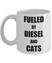 Load image into Gallery viewer, Cat Diesel Mug Funny Gift Idea for Novelty Gag Coffee Tea Cup-Coffee Mug