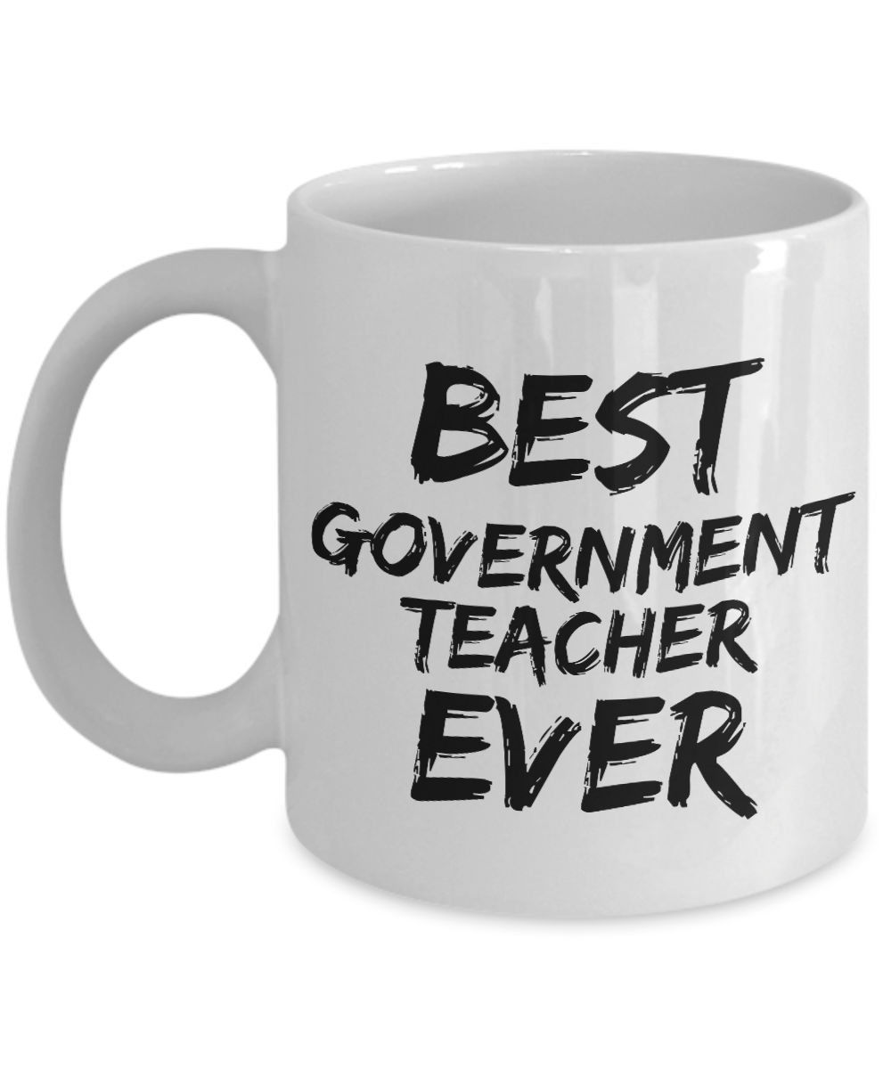 Government Teacher Mug Best Ever Funny Gift Idea for Novelty Gag Coffee Tea Cup-[style]