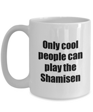Load image into Gallery viewer, Shamisen Player Mug Musician Funny Gift Idea Gag Coffee Tea Cup-Coffee Mug