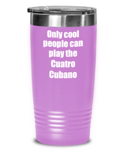 Load image into Gallery viewer, Funny Cuatro Cubano Player Tumbler Musician Gift Idea Gag Insulated with Lid Stainless Steel Cup-Tumbler