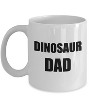 Load image into Gallery viewer, Dinosaur Dad Mug Funny Gift Idea for Novelty Gag Coffee Tea Cup-Coffee Mug