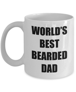 Bearded Dad Mug Best Funny Gift Idea for Novelty Gag Coffee Tea Cup-Coffee Mug