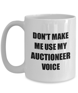 Auctioneer Mug Coworker Gift Idea Funny Gag For Job Coffee Tea Cup-Coffee Mug