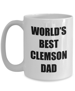 Clemson Dad Mug Dog Lover Funny Gift Idea for Novelty Gag Coffee Tea Cup-[style]