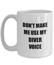 Load image into Gallery viewer, Diver Mug Coworker Gift Idea Funny Gag For Job Coffee Tea Cup-Coffee Mug