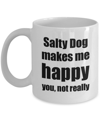 Salty Dog Cocktail Mug Lover Fan Funny Gift Idea For Friend Alcohol Mixed Drink Novelty Gag Coffee Tea Cup-Coffee Mug