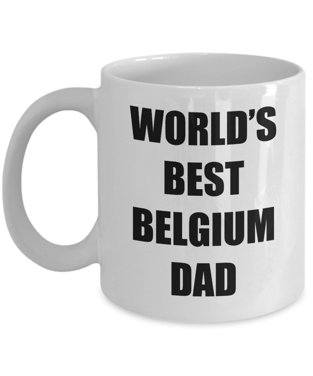 Belgium Dad Mug Best Funny Gift Idea for Novelty Gag Coffee Tea Cup-Coffee Mug