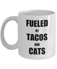 Load image into Gallery viewer, Taco Cat Mug Tacos Funny Gift Idea for Novelty Gag Coffee Tea Cup-Coffee Mug
