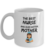 Load image into Gallery viewer, Nurse Mom Mug Best Mother Funny Gift for Mama Novelty Gag Coffee Tea Cup-Coffee Mug