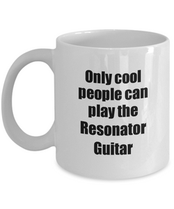 Resonator Guitar Player Mug Musician Funny Gift Idea Gag Coffee Tea Cup-Coffee Mug
