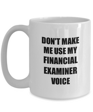 Load image into Gallery viewer, Financial Examiner Mug Coworker Gift Idea Funny Gag For Job Coffee Tea Cup-Coffee Mug