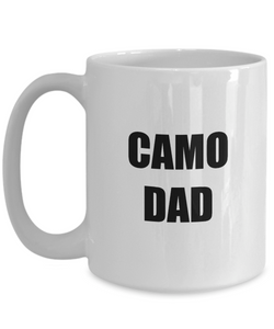 Camo Dad Mug Funny Gift Idea for Novelty Gag Coffee Tea Cup-Coffee Mug