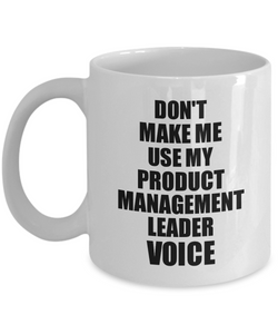 Product Management Leader Mug Coworker Gift Idea Funny Gag For Job Coffee Tea Cup Voice-Coffee Mug