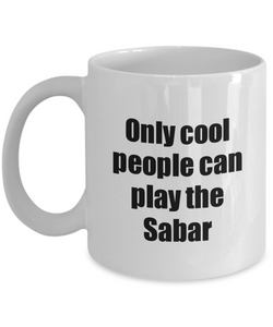 Sabar Player Mug Musician Funny Gift Idea Gag Coffee Tea Cup-Coffee Mug