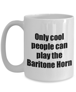 Baritone Horn Player Mug Musician Funny Gift Idea Gag Coffee Tea Cup-Coffee Mug