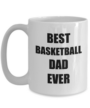 Load image into Gallery viewer, Basketball Dad Mug Funny Gift Idea for Novelty Gag Coffee Tea Cup-Coffee Mug