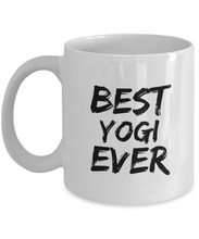Load image into Gallery viewer, Yogi Mug Best Ever Funny Gift for Coworkers Novelty Gag Coffee Tea Cup-Coffee Mug