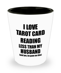 Tarot Card Reading Wife Shot Glass Funny Valentine Gift Idea For My Spouse From Husband I Love Liquor Lover Alcohol 1.5 oz Shotglass-Shot Glass