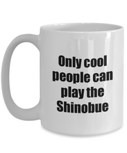 Load image into Gallery viewer, Shinobue Player Mug Musician Funny Gift Idea Gag Coffee Tea Cup-Coffee Mug
