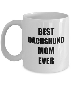 Daschund Mom Mug Dachshund Dog Lover Funny Gift Idea for Novelty Gag Coffee Tea Cup-Coffee Mug