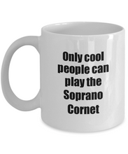 Load image into Gallery viewer, Soprano Cornet Player Mug Musician Funny Gift Idea Gag Coffee Tea Cup-Coffee Mug