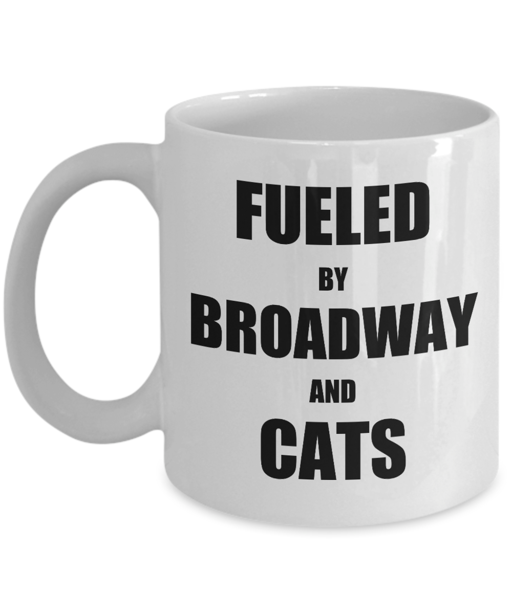 Cats Broadway Mug Funny Gift Idea for Novelty Gag Coffee Tea Cup-Coffee Mug