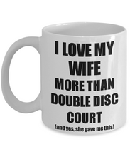 Load image into Gallery viewer, Double Disc Court Husband Mug Funny Valentine Gift Idea For My Hubby Lover From Wife Coffee Tea Cup-Coffee Mug