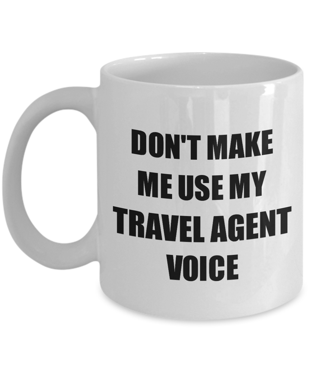 Travel Agent Mug Coworker Gift Idea Funny Gag For Job Coffee Tea Cup-Coffee Mug