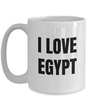 Load image into Gallery viewer, I Love Egypt Mug Funny Gift Idea Novelty Gag Coffee Tea Cup-Coffee Mug