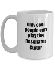 Load image into Gallery viewer, Resonator Guitar Player Mug Musician Funny Gift Idea Gag Coffee Tea Cup-Coffee Mug