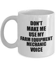 Load image into Gallery viewer, Farm Equipment Mechanic Mug Coworker Gift Idea Funny Gag For Job Coffee Tea Cup Voice-Coffee Mug