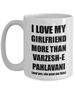 Varzesh-E Pahlavani Boyfriend Mug Funny Valentine Gift Idea For My Bf Lover From Girlfriend Coffee Tea Cup-Coffee Mug