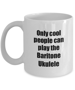 Baritone Ukulele Player Mug Musician Funny Gift Idea Gag Coffee Tea Cup-Coffee Mug