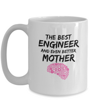 Load image into Gallery viewer, Funny Engineer Mom Mug Best Enginer Mother Coffee Cup-Coffee Mug