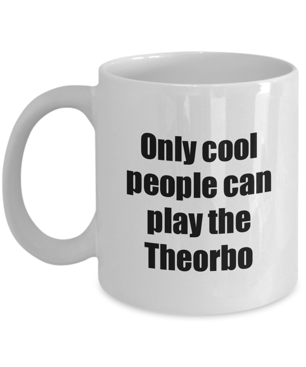 Theorbo Player Mug Musician Funny Gift Idea Gag Coffee Tea Cup-Coffee Mug