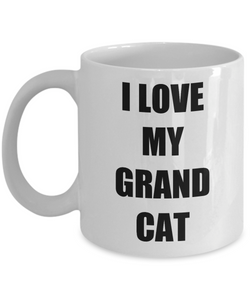 I Love My Grandcat Mug Funny Gift Idea Novelty Gag Coffee Tea Cup-Coffee Mug