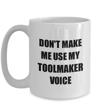 Load image into Gallery viewer, Toolmaker Mug Coworker Gift Idea Funny Gag For Job Coffee Tea Cup-Coffee Mug