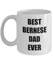 Load image into Gallery viewer, Bernese Mountain Dog Dad Mug Funny Gift Idea for Novelty Gag Coffee Tea Cup-Coffee Mug