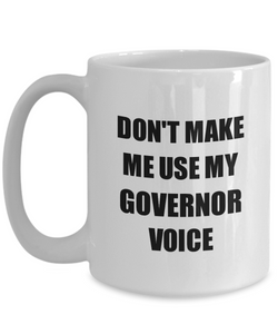 Governor Mug Coworker Gift Idea Funny Gag For Job Coffee Tea Cup-Coffee Mug