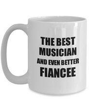 Load image into Gallery viewer, Musician Fiancee Mug Funny Gift Idea for Her Betrothed Gag Inspiring Joke The Best And Even Better Coffee Tea Cup-Coffee Mug