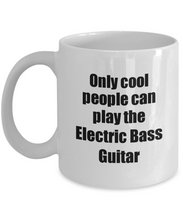 Load image into Gallery viewer, Electric Bass Guitar Player Mug Musician Funny Gift Idea Gag Coffee Tea Cup-Coffee Mug