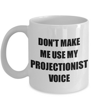 Load image into Gallery viewer, Projectionist Mug Coworker Gift Idea Funny Gag For Job Coffee Tea Cup-Coffee Mug