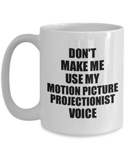 Load image into Gallery viewer, Motion Picture Projectionist Mug Coworker Gift Idea Funny Gag For Job Coffee Tea Cup Voice-Coffee Mug