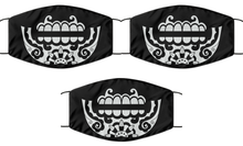 Load image into Gallery viewer, Day Of The Death Face Mask For Men Women Cool Caladera Skull Mouth Nose Cover Washable Reusable-Mask